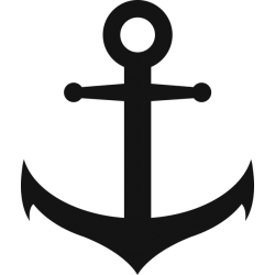 Anchor Decal Sticker [001]