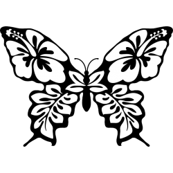 Butterfly Decal Sticker [004]