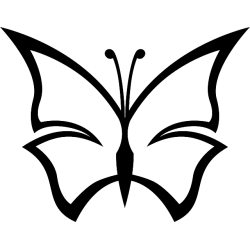 Butterfly Decal Sticker [007]