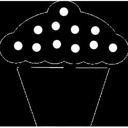 Cupcake Decal [001]