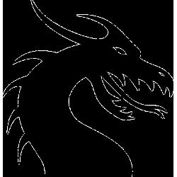 Dragon Head Decal [001]
