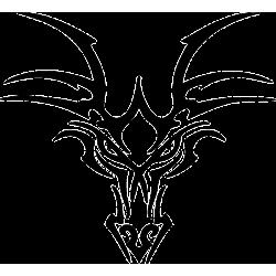 Dragon Head Decal [002]