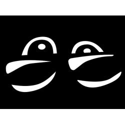 Eyes Shades Decal [001]