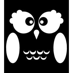 Owl Decal Sticker [001]